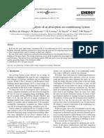 M. Pérez de Viñaspre Monitoring and analysis of an absorption air-conditioning system M. Pérez de Viñaspre a, M. Bourouis a,∗, A. Coronas a, A. Garc´ıa b, V. Soto b, J.M. Pinazo b,1 a Centro de Innovación Tecnológica en Revalorización Energética y Refrigeración (CREVER), Universitat Rovira i Virgili, 43006 Tarragona, Spain2004