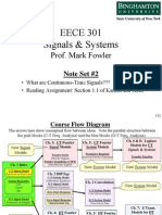 EECE 301 Note Set 2 CT Signals