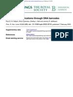 DNA Barcodes
