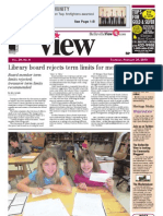 The Belleville View front page, Feb. 21, 2013