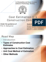 Presentation - cost estimation