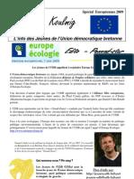 Koulmig N° Spécial Européennes 2009
