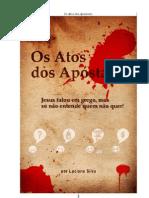 Livro eBook Os Atos Dos Apostatas