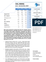 DIAL-Earnings Note 2012-Faster and Cheaper Data-BUY
