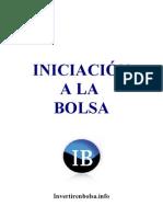 Iniciacion a La Bolsa (Www.invertirenbolsa.info)