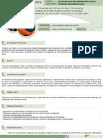 Plano de Ensino Pesquisa 2011 02