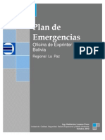 Plan Contingencias