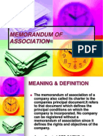 52172743 Memorandum of Association
