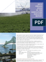 2013 Oregon State of the Agriculture Industry Report