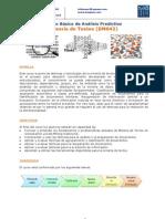 Brochure Curso Básico de Análisis Predictivo Minería de Textos (DM042)