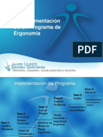 Implementacion de La Ergonomia