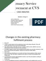 PharmacyServiceImprovementAtCVS