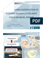 The Design and Classification of Floating Regasification Units Focus on Novel Aspects