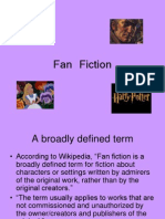 Introduction to Fan Fiction