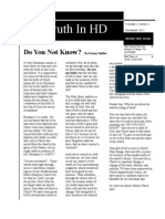 Truth in HD December 2012
