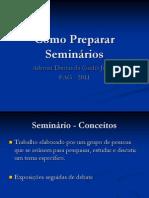 Seminários-como preparar