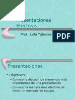 Presentaciones Efectivas Taller Para Estudiantes