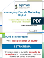 Estrategia y Plan de Marketing Digital
