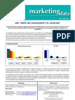 MKT Data Perfil Del Adolescente 2007