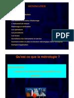 Formation Métrologie