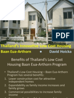 Thailand - Innovative Low Cost Housing - Baan Eua-Arthorn - David Hoicka