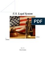 US Legal System
