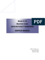 Aficio Mp2000 - Service Manual