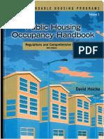 Public Housing Occupancy Handbook and Index - David Hoicka - 2004 - ISBN 1-59330-129-4