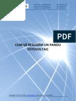 Cum Sa Construiti Singuri Un Panou Solar Fotovoltaic by Prutix Company