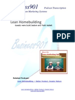 Lean HomeBuilding
