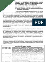 Nota de prensa denegación de información sobre cuentas bancarias