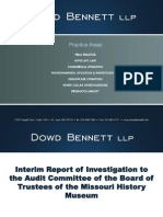 Powerpoint presentation from Dowd Bennett LLP Re