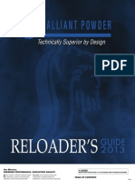 Alliant Powder Reloading Guide