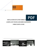 109125888 Manual de Instalacion de Plafon Modular Registrable Ligerplac