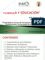 ANEXO 3 La Pobreza y La Educacion