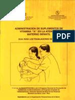 Suplementacion Vitamina a Materno Infantil