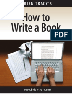 How to Write a Book (Teleseminar Notes) - BrianTracy