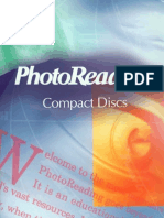 PhotoReading CD Contents List