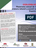 Coloquio Panorama de la LIJ en España