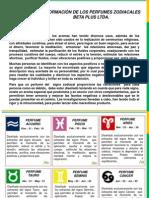 Informacion Perfume Signos Beta Plus Ltda