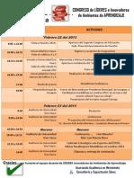 Programa de Actividades-congreso de Educacion