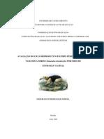 Avaliacao Do Ciclo Reprodutivo - Deborah Scheidegger Soboll