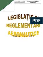 Legislatie Si Reglementari Aeronautice