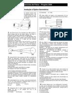Óptica - Lista 01 - Introdução à Óptica - Pinguim 2006.pdf