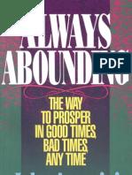 Always Abounding - John Avanzini