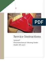 Electromechanical Vibrating Feeder Mf 200c