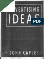 John Caples - Advertising Ideas