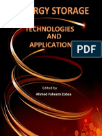 Energy Storage Technologies and Applications
