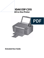 Kodak Esp c315 All in One Printer User Guide