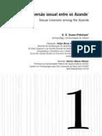A inversão sexual entre os Azande - Evans-Pritchard